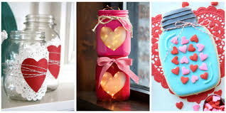 Ideas To Decorate For Valentine S Day by 25 Cute Valentines Day Mason Jars Ideas Valentine U0027s Day Mason Jar