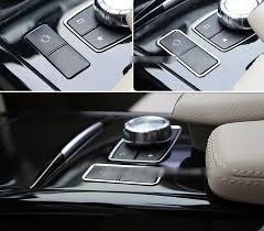Mercedes Benz E Class 2014 Interior Interior Console Es Button Frame Covers Trim For Mercedes Benz E