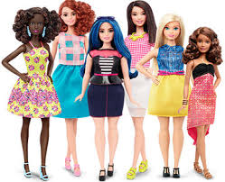 barbie introduces dolls body types