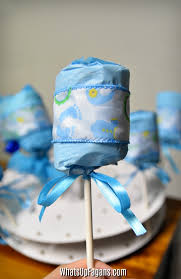 diy diaper rattle the perfect baby shower party favor