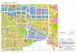 Pune India Map by Master Plan For Development Of Sectors In Pune Draft Map Pdf
