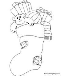 christmas stocking coloring coloring pages u0026 activities