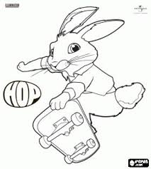 hop coloring pages free printable bunny eb skate