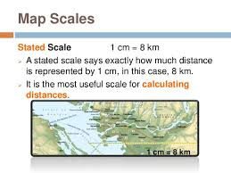map scales geography skills scale