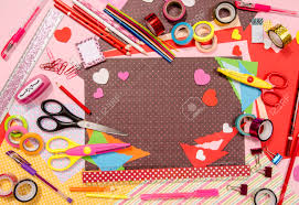 arts and craft supplies for s color paper