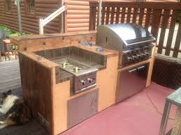 diy outdoor kitchen ideas bbq island archives diy bbq intended for build your own outdoor with