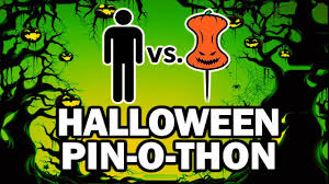 halloween pictures to download diy halloween pin o thon man vs pin 101 youtube