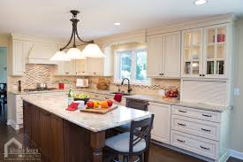 kitchen remodel with white cabinets brushed bronze hardware archives advance design studio