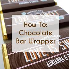free bar wrapper templates free printable bar wrappers for wedding favors a practical