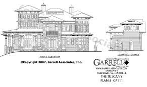 mediterranean style floor plans tuscany house plan house plans by garrell associates inc