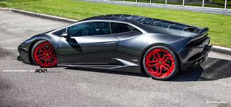 lamborghini modified lamborghini huracan lp610 advnl2 m v2 cs brushed red