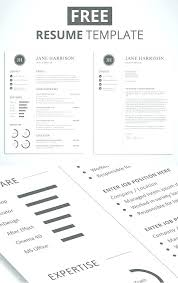 best modern resume templates contemporary resume templates modern clean resume template