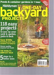 buy the family handyman best backyard projects magazine 2013 in