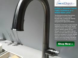 Touch Free Faucets Kitchen by Sink U0026 Faucet Beautiful No Touch Kitchen Faucet Kohler Faucet