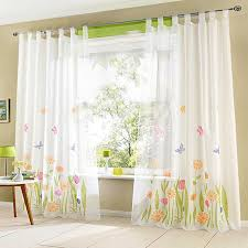 latest sheer butterfly curtains ideas with print butterfly pattern