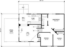 eat in kitchen floor plans split level house designs the plan collection