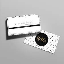 modern chic business card template by chic templates