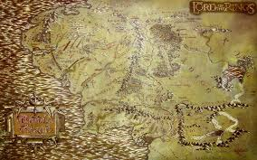 Map Middle Earth The Lord Of The Rings Maps Middle Earth 1680x1050 Wallpaper High