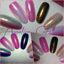 effetto sirena su semipermanente nded nded gel polish nail art