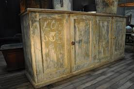 Antique Painted Sideboard Antique French Buffet Console With Old Patina And
