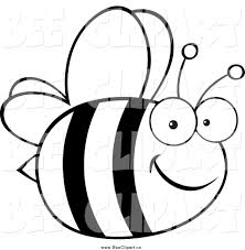 free black and white insect clipart 46