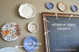 plate hangers for wall mounted plates how to hang plates lilacs and longhornslilacs and longhorns