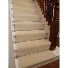 Silver Stair Rods by Stair Carpet Runners Find This Pin And More On Custom Carpet