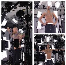 full body tattoo nba 2k16 miami heat players getting scanned for nba 2k16 operation sports