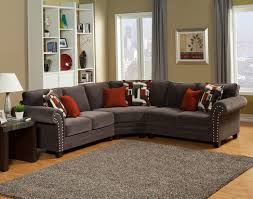 Oversized Couches Living Room Interior Gorgeous Lady Charcoal Sectional For Living Room