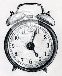 drawn clock pencil drawing pencil and in color drawn clock