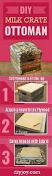 Diy Easy Furniture Ideas Best 25 Milk Crate Furniture Ideas On Pinterest Crate Furniture