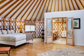 airbnb wyoming the coolest airbnb in every state luxury yurt yurts and airbnb