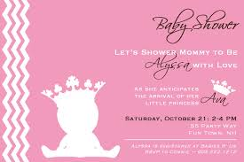 free princess baby shower invitation templates for baby shower