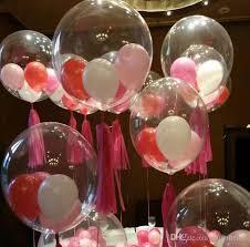 wedding balloons 36 inches bobo clear balloons wedding christmas birthday