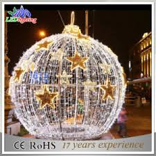 china holiday lighting led ball light outdoor large outdoor