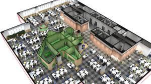 Walmart Floor Plan Walmart Com Office In Brazil Has A Crazy Golf Course On The Roof