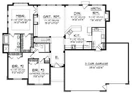 open floor plan ranch country house plans open floor plan open floor small home