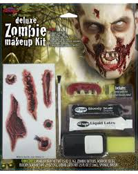apply for spirit halloween create or complete your costume with this deluxe zombie makeup kit