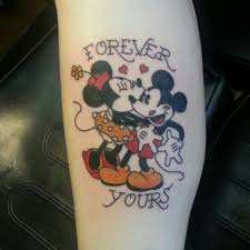 traditional mickey mouse tattoo tattoo ideas center