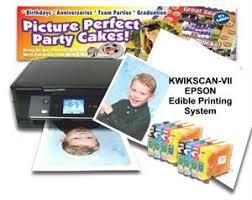 edible printing system create edible photo cakes with kopykake s kwikscan vii system