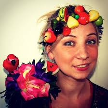 fruit headband fruit headpiece fruit necklace fruit headband by madebytrouble