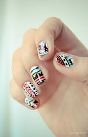 157 best tribal and aztec nails images on pinterest