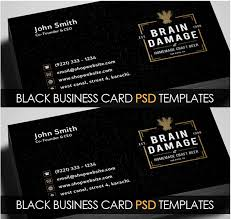 25 business cards free psd vector eps png format download