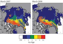 Ice Age Interactive Map My Blog by April 2008 Arctic Sea Ice News And Analysis