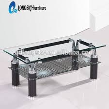 glass coffee table price ls 1060 double layers tempered glass coffee table coffee table