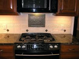 kitchen medallion backsplash kitchen backsplash medallions fitbooster me