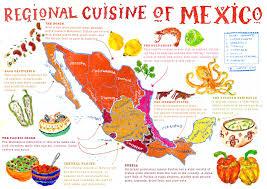 map of mexico yucatan region large map of regional cuisine mexico pleasing yucatan region in