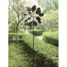 wholesale unique wrought iron garden pinwheel garden windmill