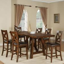 7 Piece Counter Height Dining Room Sets Holland House Lakeshore 7 Piece Counter Height Table And Stool Set