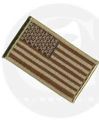 Military Flag Patch Us Military Desert Tan American Flag Patch
